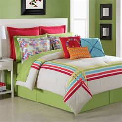 Salaya Comforter Set Multi Bright