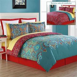 Terra Comforter Set Multi Bright