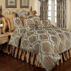 Miraloma Comforter Set Aqua