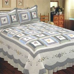 Mayfield Quilt Eggshell