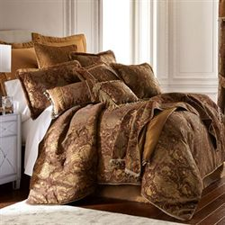 China Art Brown Comforter Set
