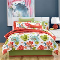 Maya Comforter Set Multi Bright