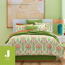 Panama Comforter Set Green
