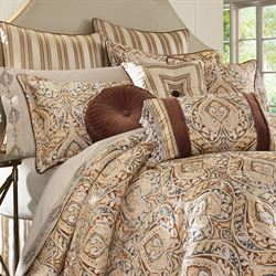 Serenity Comforter Set Light Gold