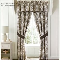 Pearcely Tailored Curtain Pair Pearl 82 x 84