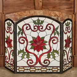 Celyn Decorative Holiday Fireplace Screen