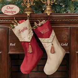 Prestige Christmas Stocking Gold