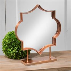 Kanessa Tabletop Mirror Rose Gold