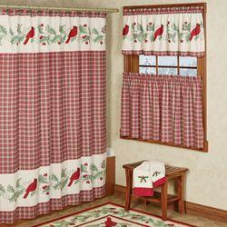 Wintersong Shower Curtain Ecru 72 x 72