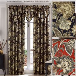 Straughn Tailored Curtain Panel