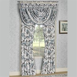 Atrium Tailored Curtain Pair Eggshell 82 x 84