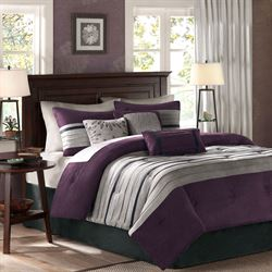 Porter Comforter Bed Set Grape
