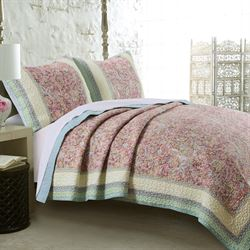 Palisades Quilt Set Tea Rose