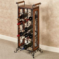 Milano Wine Bottle Rack Windsor Oak