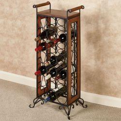 Milano Floor Standing Wine Bottle Rack