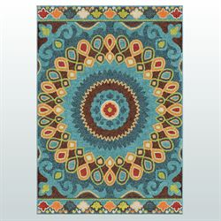 Josefina Rectangle Rug Multi Bright