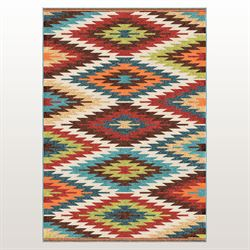 Sierra Vista Rectangle Rug Multi Bright