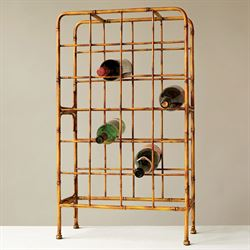 Altura Faux Bamboo Wine Rack