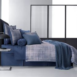 Theodora Comforter Set Dark Blue