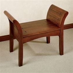 Jameson Bench Regal Walnut
