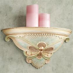 Butterfly Ballet Wall Shelf Aqua