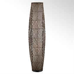 Vashti Floor Lamp Chocolate
