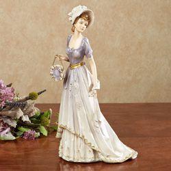 Grandeur Lady Figurine Lavender
