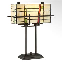 Malhia Table Lamp Dark Bronze