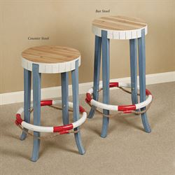 Beachside Counter Stool Cornflower