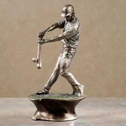 Play Hard Baseball Figurine Platinum
