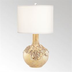 Pretty Poppy Table Lamp Gold