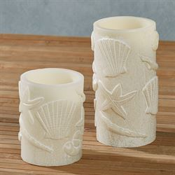 Samudra LED Candles Ivory Set of Two