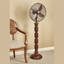 Evandale Floor Fan Walnut