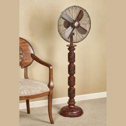 Evandale Floor Fan Walnut