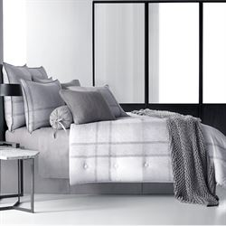 Leighton Comforter Set Gray