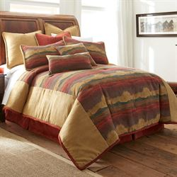 Desert Sunset Mini Comforter Set Multi Warm