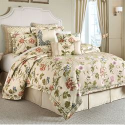 Daphne Comforter Set Khaki
