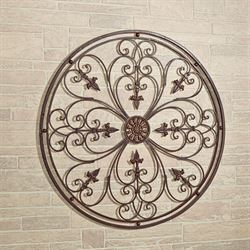 Ravenna Round Wall Grille Antique Bronze