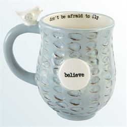 Nest Believe Bird Mug Multi Cool