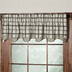 Logan Plaid Bradford Valance  70 x 15