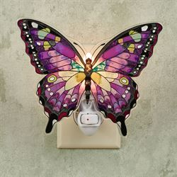 Purple Swallowtail Butterfly Nightlight