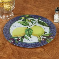 Lemons and Olives Lazy Susan Multi Bright