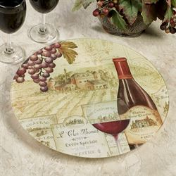 Wine Tradition Lazy Susan Multi Warm