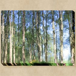 Rippling Woods Canvas Wall Art Multi Cool