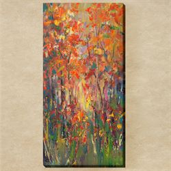 The Choir Canvas Wall Art Multi Warm