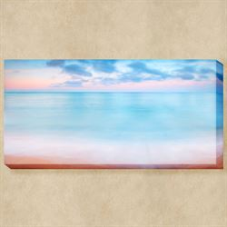 Pastel Skyline Canvas Wall Art Multi Pastel