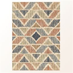 Juxtaposition Rectangle Rug Wheat