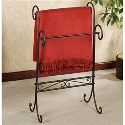 Messina Blanket Rack Antique Mahogany