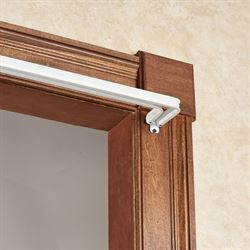 Arrietty Double Curtain Rod White
