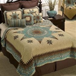 Sea Breeze Star Quilt Multi Warm